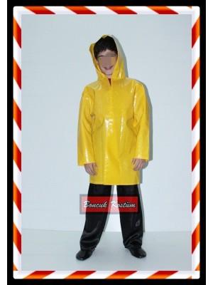 Sarı Balıkçı Yağmurluk