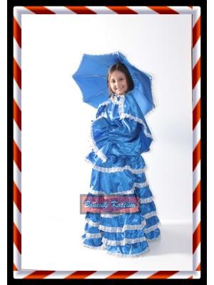 Üsküdar Kostümü mavi