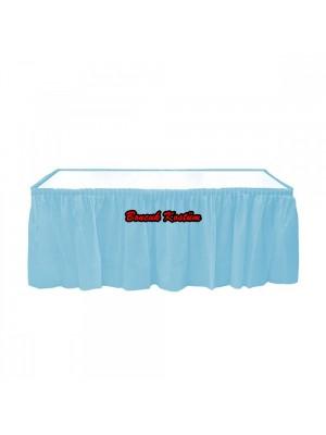 Acık Mavi Masa Eteği